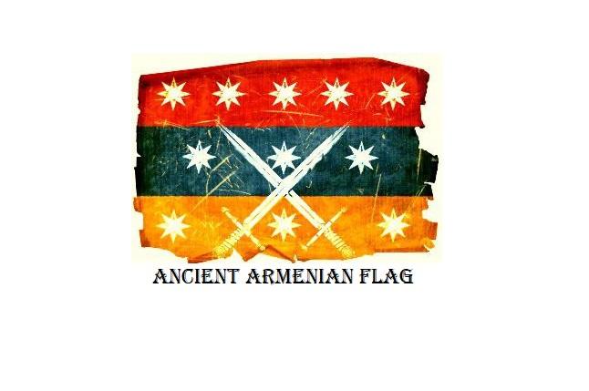 Ancient Armenian Flag
