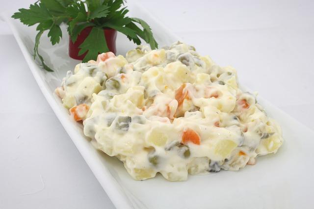 Olivier Salad Ingredients